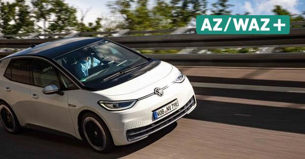 Belastungstest: VW-Mitarbeiter fahren ID.3 Probe