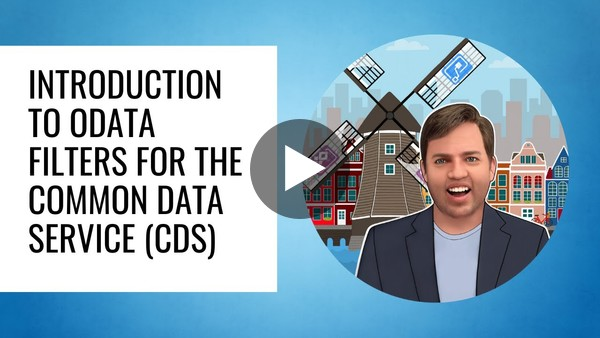Introduction to OData filters for the Common Data Service (CDS)