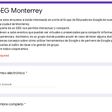 Google Educator Group Monterrey