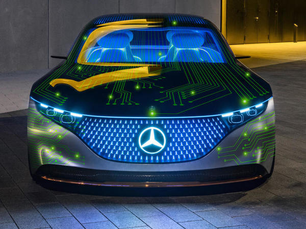 Nvidia and Mercedes to roll out software-defined autonomous vehicles by 2024
