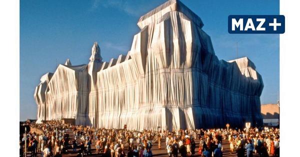 Als Christo den Reichstag verhüllte: Fast sah es aus wie Vanille-Eis