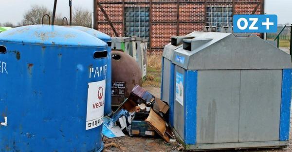 Blaue Tonne wird kostenpflichtig: Klütz schafft Papiercontainer wieder an
