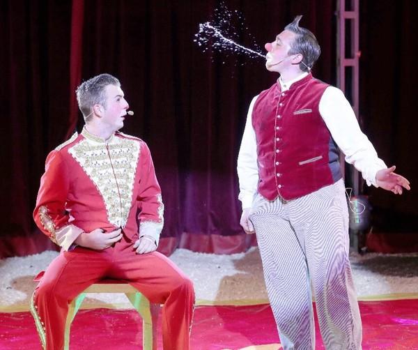 In der Manege vom Zirkus Frank (Foto: privat)