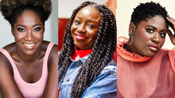 Amber Iman, Jocelyn Bioh, and Danielle Brooks