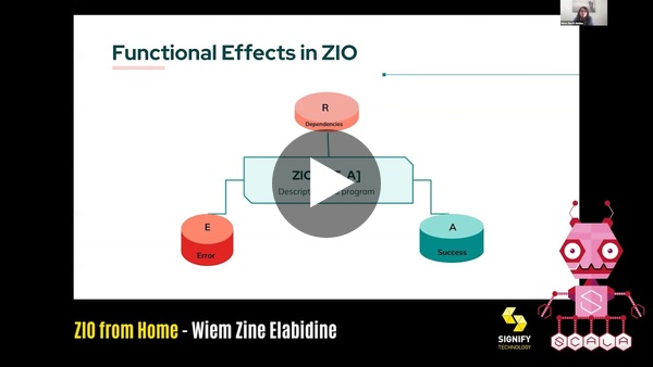 ZIO from Home by Wiem Zine Elabidine: Scala in the City Conference