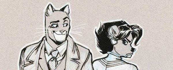 Juanjo Guarnido - Blacksad Commission