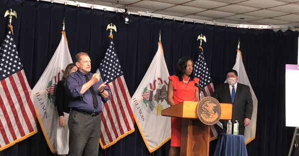 Illinois ready to step forward into Phase 4, but Pritzker unfazed about tugging it back if COVID-19 cases surge