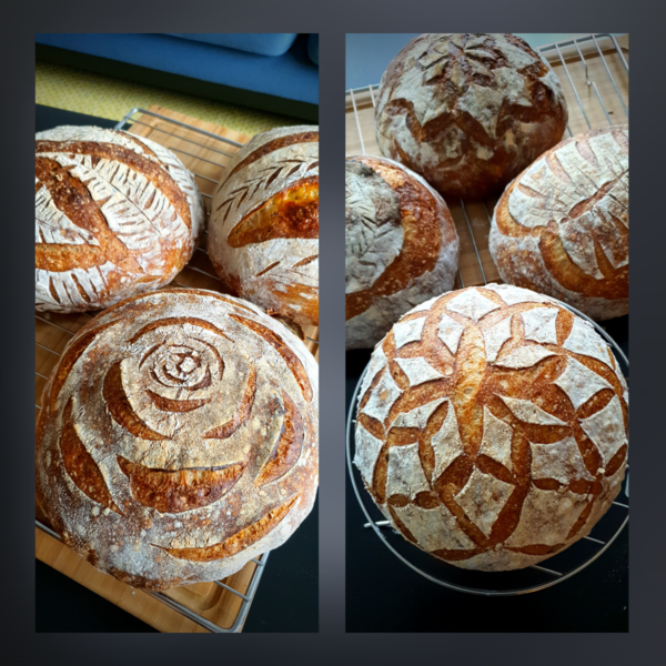 Sourdough Breads by @pammiebakes
