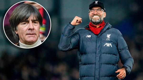 """Joachim Löw über den Titel-Triumph des FC Liverpool: """"Ziehe den Hut"""" vor Jürgen Klopp"""