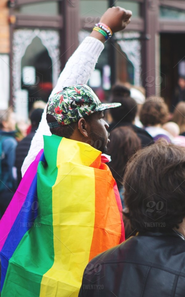 Photo by jenni.heller. Pride flag.