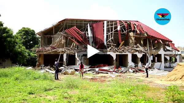 We don't intend to create a diplomatic row - Osu Stool on Nigerian High Commission demolition