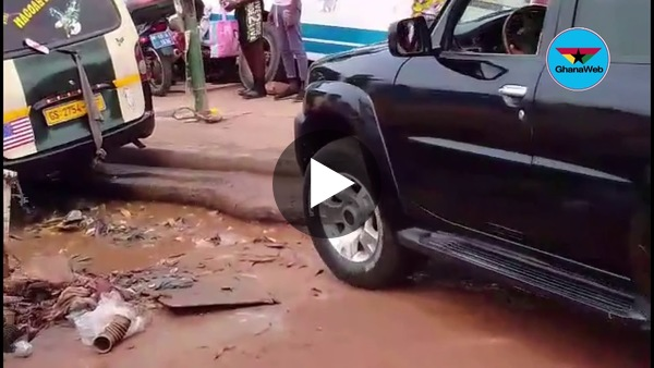 Eyes on the Ground: Poor road network destroying cars from Odorkor to Kanashie