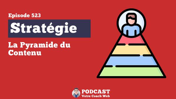 Comprendre la Pyramide du Contenu - Bertrand Soulier - Votre coach Web