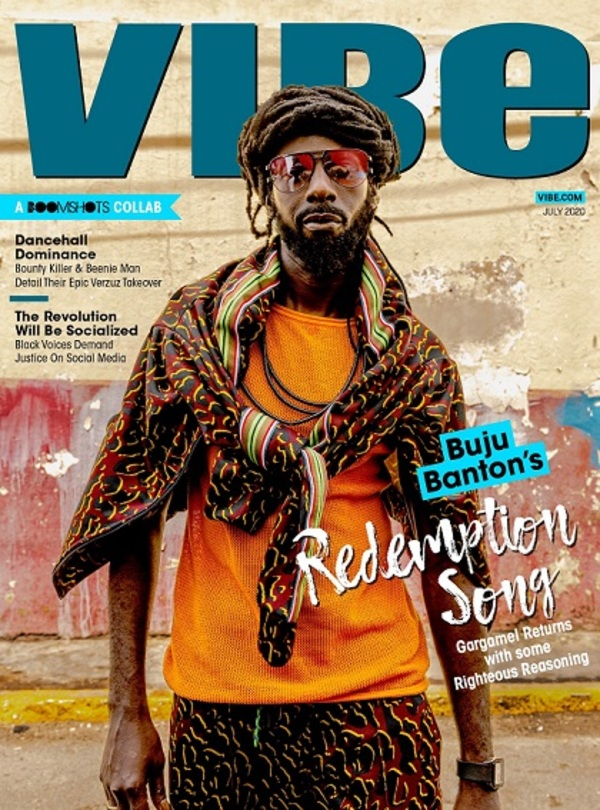 Buju Banton Covers Vibe Magazine, Talks 'Upside Down 2020' Album