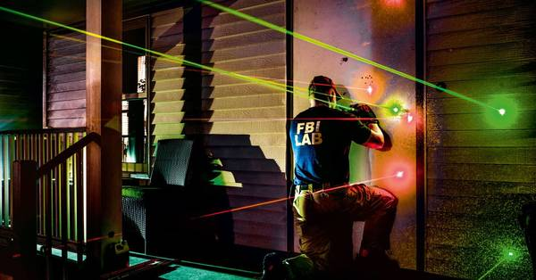 Behind the scenes at the FBI's gruesome forensics laboratory