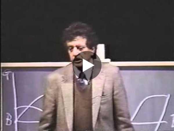 A vintage Kurt Vonnegut session on the Shapes of Stories