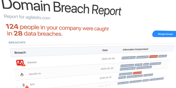 1Password taps Have I Been Pwned to give enterprises data breach reports