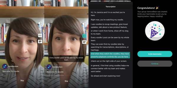 Voodle wants companies to ditch boring group calls for 1-minute videos