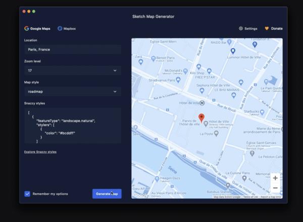 Sketch Map Generator 4