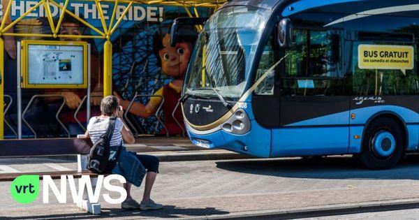 Les bus de la ligne 20 ne relient plus Dunkerque à La Panne - Geen Franse lijnbus meer tussen Duinkerke en station De Panne