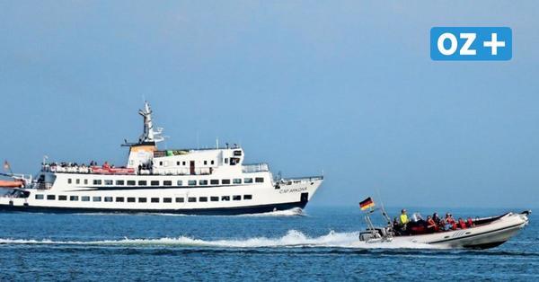 Mit 600 PS über die Ostsee: So aufregend ist eine Speedboot-Fahrt vor der Insel Rügen