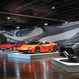 Drei Lamborghini stehen jetzt in der Autostadt