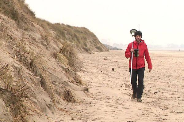 Zuydcoote : le trait de côte recule, les dunes perdent du terrain - Duinen verliezen terrein
