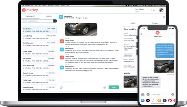 Hi Marley raises $8 million for its AI messaging platform that connects insurers with customers