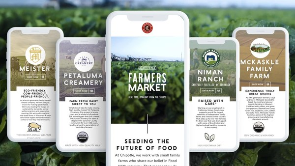 Chipotle Launches a Direct-to-Consumer Virtual Farmers' Market for Its Suppliers