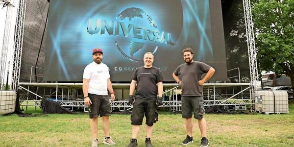 Tino Alberts, Marius Kutsch und Leon Heiden (v.l.) in Mildenberg. Foto: Uwe Halling