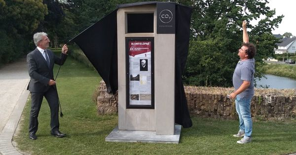 Ypres inaugure une exposition temporaire en plein air sur Sir Reginald Blomfield - Ieper opent tijdelijke openluchttentoonstelling over Sir Reginald Blomfield