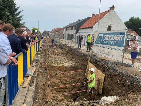 Un bunker de la Première Guerre mondiale découvert à Wytschate - Bunker uit WO I blootgelegd in Wijtschate