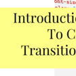 Introduction to CSS Transitions