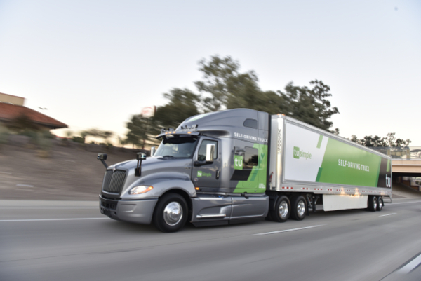 TuSimple kicks off plan for a nationwide self-driving truck network with partners UPS, Xpress and McLane