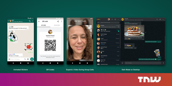 WhatsApp officially announces QR codes and animated stickers