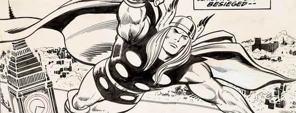 John Buscema - Thor Original Comic Art