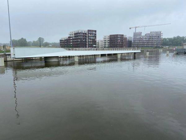Nouveau pont mobile à Harelbeke - Nieuwe beweegbare brug in Harelbeke