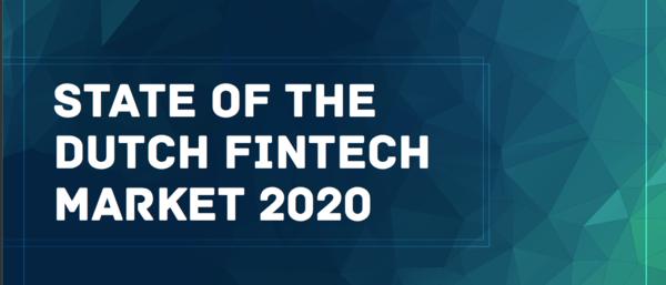 State of the Dutch Fintech Market 2020