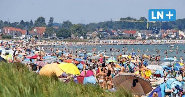 Lärm, Müll, kaputte Strandkörbe: Scharbeutz kämpft gegen Partygruppen