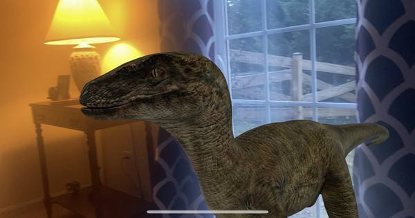 Google now lets you play with AR dinosaurs in Search