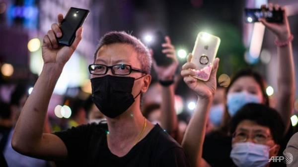 Hong Kongers scrub social media history in face of security law - CNA