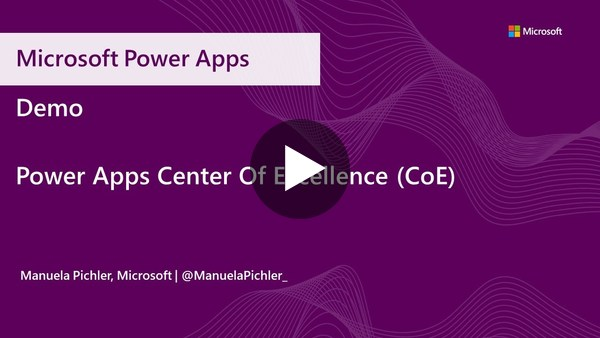 Power Platform Center of Excellence (CoE)