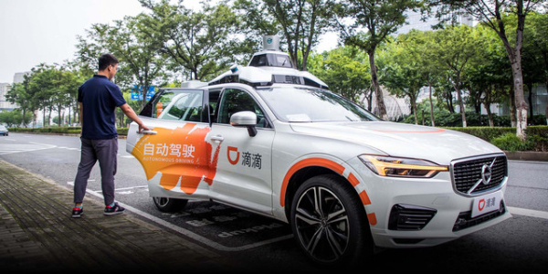 Volvo robotaxis roll out in suburban Shanghai