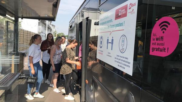 Dunkerque : la Belgique à nouveau desservie par les bus - Busverbinding hersteld tussen Dunkerque en De Panne