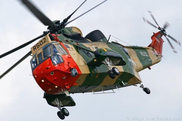 Deux des anciens Sea King militaires sauvés et rachetés par une association britannique - Twee laatste Sea Kings gered