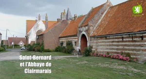 St Bernard et l'abbaye de Clairmarais - St Bernard en de abdij van Clairmarais