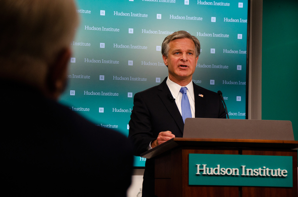 Director wray discusses threat posed by China to U.S. economic and national security