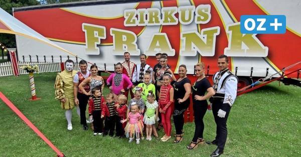 Manege frei: So lebt die Zirkusfamilie Frank/Sperlich