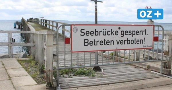 Pfusch und Konstruktionsfehler: Seesteg in Sassnitz bleibt gesperrt