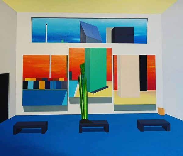 David Sprenger. Nr. 29: Micro gallery in the macro gallery; 06/2020